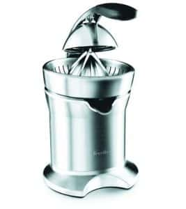 6. Breville 800CPXL Die-Cast Stainless-Steel Motorized Citrus Press