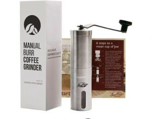 10. JavaPresse Manual Coffee Grinder