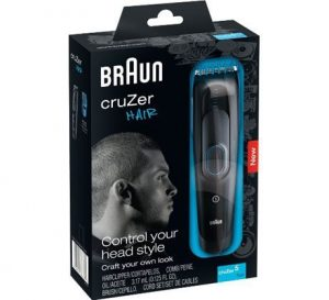 10.Braun Cruzer 5 Hair Clipper
