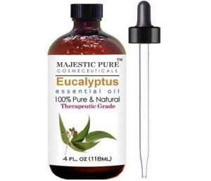 2. Majestic Pure Eucalyptus Essential Oil