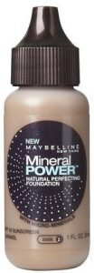 6. Maybelline Mineral Power Liquid Foundation