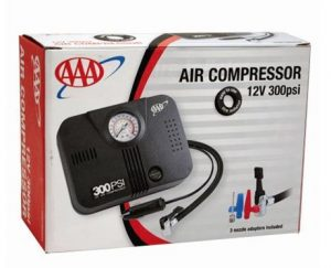 7. LifeLine AAA 300 PSI 12 Volt DC Air Compressor