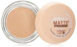 7. Maybelline New York Dream Matte Mousse Foundation