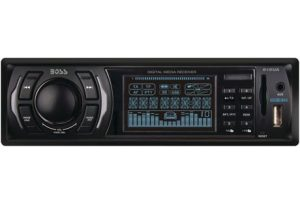 1. BOSS Audio 612UA Single-DIN MECH-LESS Receiver