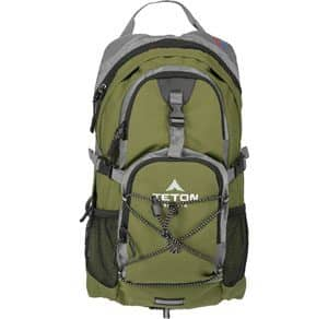 1bed1825b16e TETON Sports Oasis 2-Liter Hydration with Rain Cover Hiking Backpack