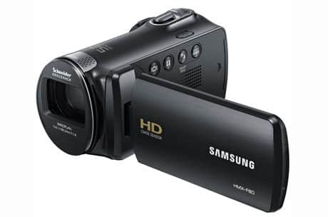1. Samsung HMX-F90 Compact Camcorder