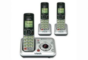 2. VTech CS6429-3 DECT 6.0 Expandable Cordless Phone