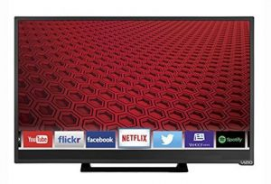 3. Vizio E24-C1 24-Inches 1080p Smart LED TV