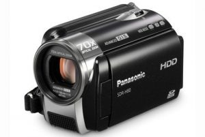 8. Panasonic SDR-H80 SD and HDD Camcorder