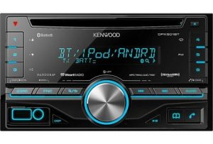 9. Kenwood DPX501BT 2-DIN CD