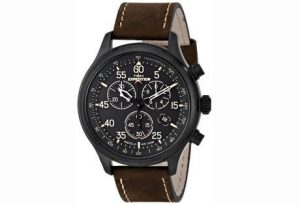 1. Timex Men's T499059J Expedition Field Chronograph Watch