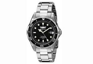 3. Invicta Men's 8932 Pro Diver Collection Silver-Tone Watch