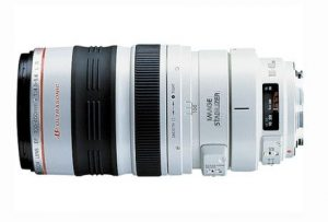 4. Canon EF 100-400mm