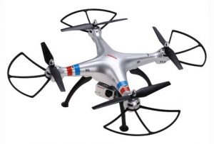 4. Coocheer Syma X8G 2.4GHz 4CH 6 Axis Headless Mode RC Drone Quadcopter