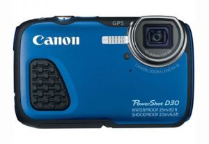 6. Canon PowerShot D30 Waterproof Digital Camera
