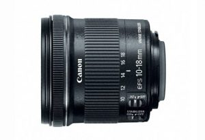 9. Canon EF 10 - 18 mm