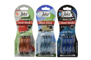 7. Zeeray Assorted Juice Vent Sticks