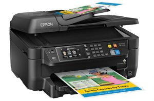The Wf2760 From Epson Is A Great All In One Printer That Features Ethernet But Also Wireless Connectivity For Your Office Or Home This Top