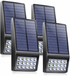 XINREE 15 LED Super Bright Solar Motion Sensor Lights