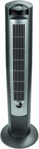 """Lasko Portable Electric 42"""" Oscillating Tower Fan with Nighttime Setting"""