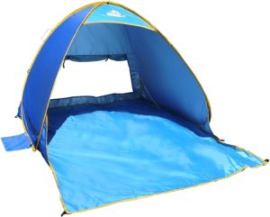 Outdoorsman Cabana Tent, Water Resistant Beach Accessories