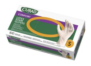 Curad Disposable Medical Latex Gloves